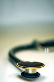 Isolated stethoscope with blurred background Stock Photography