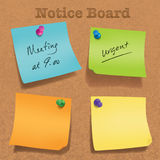 Isolated sticky note Royalty Free Stock Images