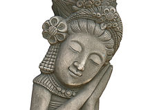 Isolated stone carvings Stock Photos