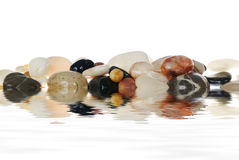 Isolated stones Royalty Free Stock Images
