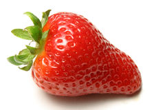 Isolated strawberry stock image