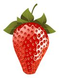 Isolated strawberry Royalty Free Stock Photos