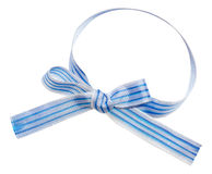 Isolated striped ribbon Royalty Free Stock Photography
