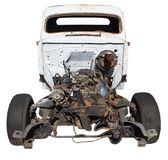 Weathered and Worn Roadster Chassis Royalty Free Stock Photo