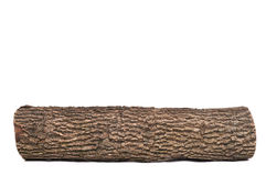 Isolated Stub Log With Wooden Texture Royalty Free Stock Image