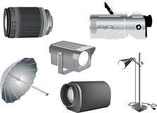 Isolated studio equipment illustration Stock Photo