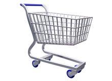 Isolated  Stylized shopping cart Royalty Free Stock Photo