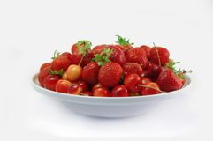 Isolated summer berry Royalty Free Stock Photo