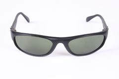 Isolated sunglasses 2. A pair of isolated black sunglasses Stock Photos