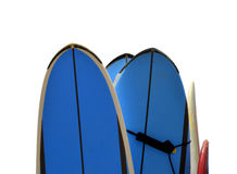 Isolated Surfboards Royalty Free Stock Photo