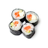 Isolated sushi on white Royalty Free Stock Photography
