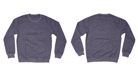 Isolated Sweater. Isolated gray sweater on white background Stock Photo