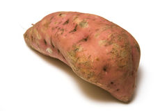 Isolated Sweet Potato Stock Photography