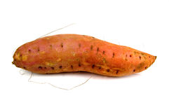 Isolated sweet potato yam Royalty Free Stock Photography