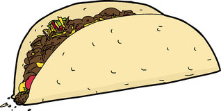 Isolated Taco Stock Images