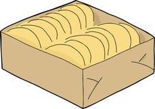 Isolated Taco Shells Box Stock Photography
