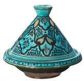 Isolated tagine Royalty Free Stock Photo