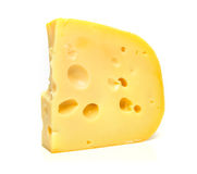 Isolated tasty cheese Stock Image
