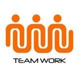 Isolated teamwork logo. On a white background, Vector illustration vector illustration