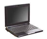 Isolated technology netbook Stock Photo