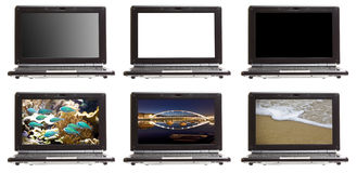 Isolated Technology Netbook Royalty Free Stock Photo