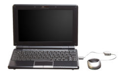 Isolated technology netbook Royalty Free Stock Photography