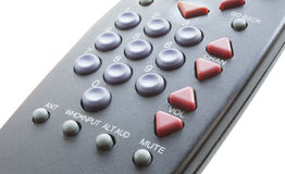 Isolated television remote control Royalty Free Stock Photography