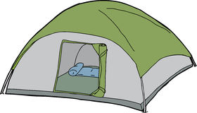 Isolated Tent Royalty Free Stock Photo
