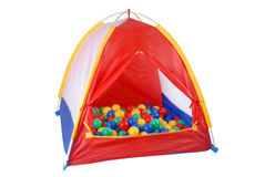 Isolated tent toy Stock Image