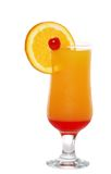 Isolated tequila sunrise Stock Images