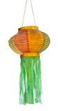 Isolated Thai lanna lantern Stock Photo