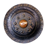 Isolated Thai native gong Royalty Free Stock Photo