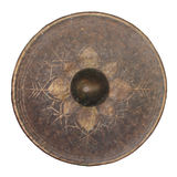 Isolated Thai native gong. (with clipping path Stock Photography
