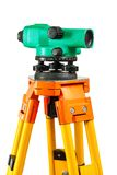 Isolated theodolite closeup Royalty Free Stock Photo