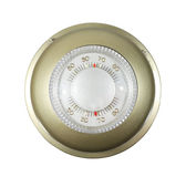 Isolated thermostat Royalty Free Stock Images