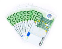 Isolated thousand euro 2 Royalty Free Stock Photos