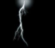 Isolated thunder Stock Photo