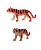 Isolated tiger toy Royalty Free Stock Photos