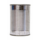 Isolated Tin Can front Stock Photography