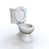 Isolated toilet Stock Images