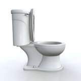 Isolated toilet Royalty Free Stock Photos