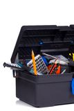 Isolated toolbox Royalty Free Stock Image