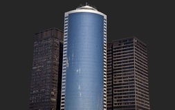 Isolated Tower Buildings Royalty Free Stock Photo