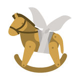 Isolated toy horse damaged design. Toy horse damaged icon. Childhood play fun cartoon and game theme. Isolated design. Vector illustration Royalty Free Stock Photography