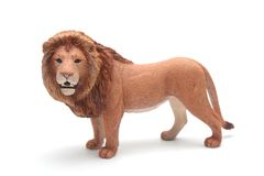 Isolated Toy Lion Stock Photos