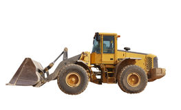 Isolated tractor Stock Photo