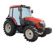 Isolated tractor Stock Images