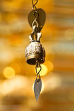 Isolated tradition asian bell Royalty Free Stock Photos