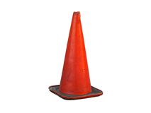 Isolated Traffic Cone Royalty Free Stock Image