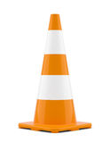 Isolated traffic cone Stock Images
